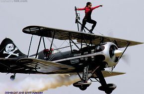 Amanda Younkin-Franklin Wing Walker WACO Biplane