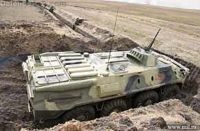 BTR-80 in cover 1