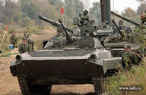BMP-2 with armored column