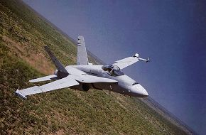Another decent pic of a RAAF F/A-18 Hornet