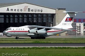 north korea Il-76