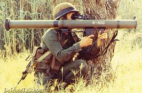 Us Marine with a Anti-Tank Guided Weapon.