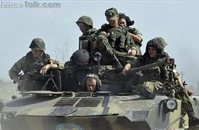 Russian troops, BMD-2
