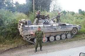 BMP-2 parked