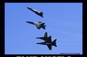 US Navy Blue Angels Flight Demonstration Team