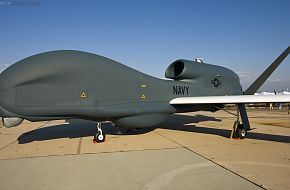 MQ-4 Global Hawk UAV - Miramar 2010