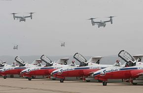 MV-22 Osprey and Snowbirds  - Miramar 2010