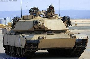 USMC M1A1 Abrams Main Battle Tank