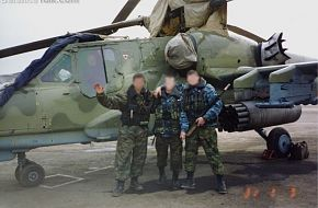 Ka-50 in Chechnya