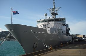 NZ Navy- HMNZS Wellington