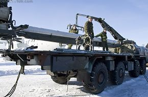 Smerch Loading Vehicle