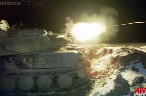 ZSU-23-4 Firing, Chechnya