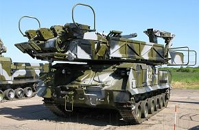 Buk-M1 loading vehicle