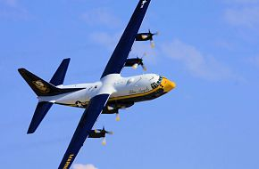 Blue Angels C-130T Hercules Transport - Fat Albert