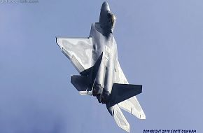 USAF F-22A Raptor Stealth Fighter