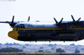 Blue Angels C-130 Transport - Fat Albert