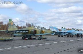 Su-25 and Su-27 Vzaimodeystvie-2010