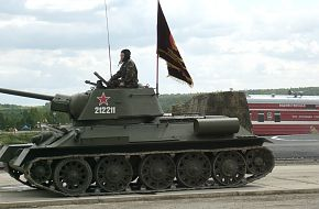 OT-34 Flamethrower Tank