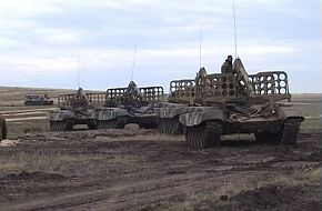 Transport-Loader Vehicles for TOS-1