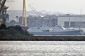 Milgem Turkish Stealth Corvette