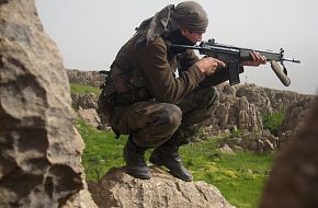 Turkish Soldier with HK-33