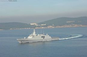 Milgem Corvette First Naval Test