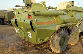 BTR-80 R149 BMR command vehicle