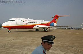 ARJ21 commercial aircraft