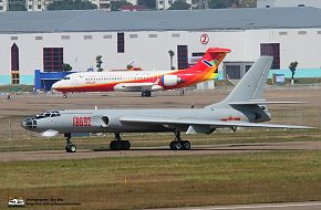 H-6 and ARJ-21 at Airshow china 2010