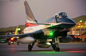 J-10 Fighter Aircraft at Airshow China 2010