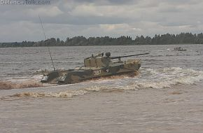 BMD-2 river crossing