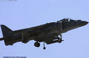 USMC AV-8B Harrier VTOL Fighter Aircraft