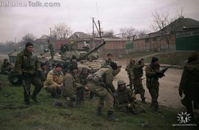 Scouts before the assault, Grozny