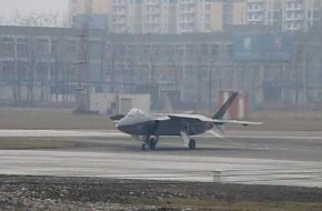 Chengdu J-20 Stealth Fighter Aircraft - China