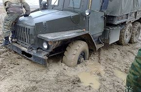 Up-Armored Ural Truck
