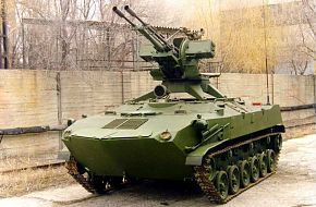 BTR-D with ZU-23-2