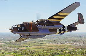 "Vintage B-25 Mitchell ""Axis Nightmare"" flies"