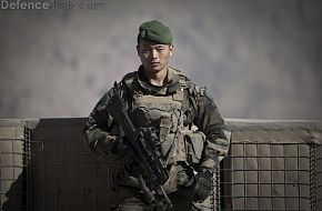 A Chinese national  with the French Foreign Legion
