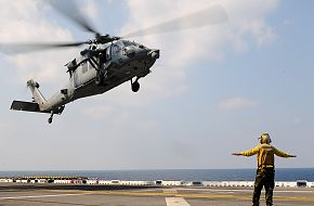US Navy  MH-60S Sea Hawk of  Helicopter Sea Combat Squadron (HSC) 25