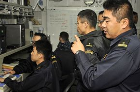 Japan Maritime Self-Defense Force Officials
