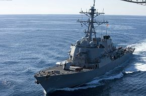 USS John S. McCain guided-missile destroyer