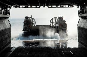 Japanese landing craft air cushion (LCAC)