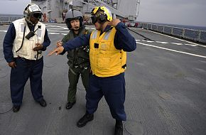 Japan Maritime Self-Defense Force sailor