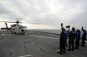 SH-60K helicopter of the JMSDF