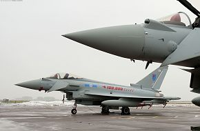 Eurofighter Typhoon 100k Flying Hours, RAF