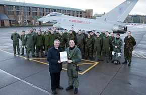 RAF Eurofighter Typhoon Fleet 100k Flying Hours
