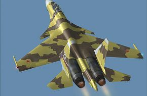 Su-37 - Sukhoi Fighter Aircraft