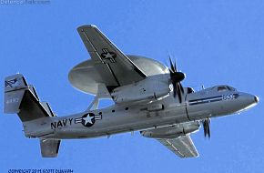US Navy E-2C Hawkeye