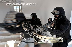 Chinese Armed Police Force (APF) .