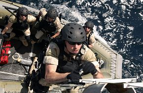 US Navy  VBSS team training